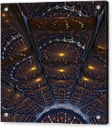 Copper Cathedral Acrylic Print
