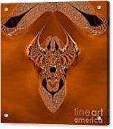 Copper Jewel Acrylic Print