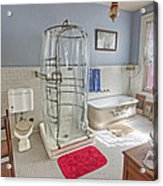 Copper King Victorian Bathroom - Butte Montana Acrylic Print