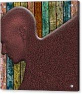 Copper Man Acrylic Print