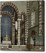 Coptic Church, Cairo, Egypt, 1906 Acrylic Print by Getty Research Institute