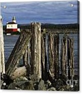 Coquille Lighthouse Oregon 3 Acrylic Print