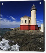 Coquille River Lighthouse 3 Acrylic Print