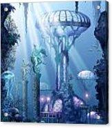 Coral City   Acrylic Print