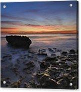 Coral Cove Beach At Dawn Acrylic Print