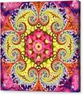 Coral Ecstacy Acrylic Print