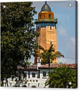 Coral Gables House And Water Tower Acrylic Print