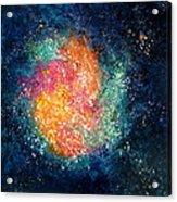 Coral Nebula Acrylic Print