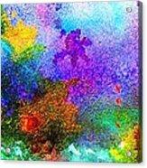 Coral Reef Impression 6 Acrylic Print
