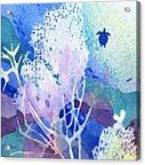 Coral Reef Dreams 5 Acrylic Print