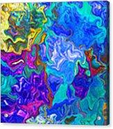 Coral Reef Fantasy Acrylic Print