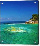 Coral Seas Haiti Acrylic Print