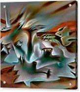 Coralscape  Acrylic Print