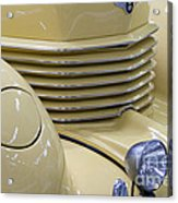 Cord 812 Oldtimer From 1937 Grill Acrylic Print