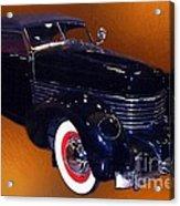 Cord Phaeton 1936 Acrylic Print