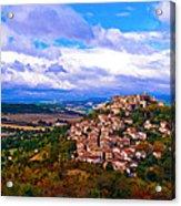 Cordes-sur-ciel France Acrylic Print