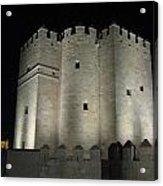 Cordoba Castle By Night Acrylic Print