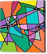 Corell Tiles Acrylic Print