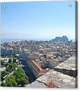 Corfu City Acrylic Print