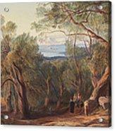 Corfu From Santa Decca Acrylic Print