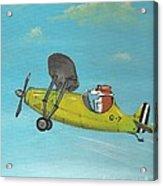 Corgi Aviator Acrylic Print