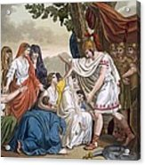 Coriolanus And His Mother Volumnia Acrylic Print