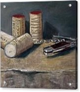 Corks Number 5 Acrylic Print