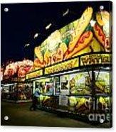 Corn Dog Kiosk Acrylic Print