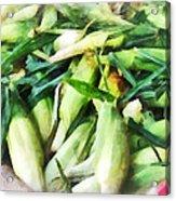 Corn For Sale Acrylic Print