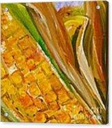 Corn In The Husk Acrylic Print