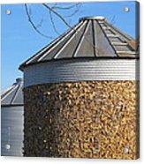 Corn Storage Acrylic Print