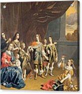 Cornelia And Her Jewels Oil On Canvas Acrylic Print
