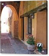 Corner Arch, Mission San Juan Capistrano, California Acrylic Print