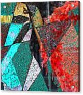 Corner Dancer  Acrylic Print