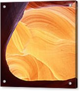 Corner Flame-sq Acrylic Print