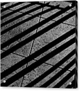Corner Railing Acrylic Print