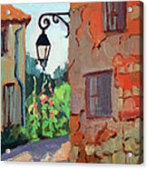 Street Corner In St. Colombe Acrylic Print
