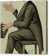 Corney Grain  Entertainer        Date Acrylic Print
