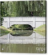 Corning Ny Denison Park Bridge Acrylic Print