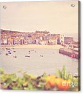 Cornish Harbour Acrylic Print