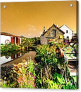 Cornish Reflections  Acrylic Print