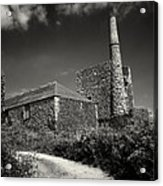 Cornish Tin Mine. Acrylic Print