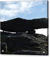Cornwall Balancing Boulder Acrylic Print