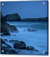 Cornwall Coast Acrylic Print