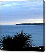 Cornwall Coast Subdued Sunset Acrylic Print