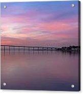 Coronado Bridge Sunrise Acrylic Print