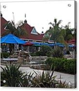 Coronado Ferry Landing Marketplace In Coronado California 5d24386 Acrylic Print