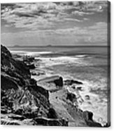 Coronado Islands From Cabrillo Acrylic Print