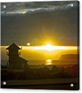 Coronado's Beach At Sunset Acrylic Print