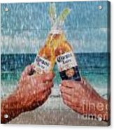 Coronas In The Rain Acrylic Print
